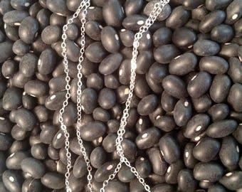 "Silver chain 18""-24"""