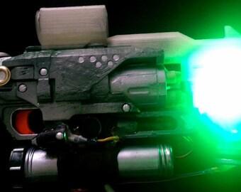 Toxic Shot Modified & Customized NERF Hammershot
