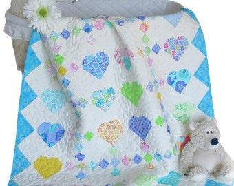 My Sweet Heart Quilt Pattern PDF #438e