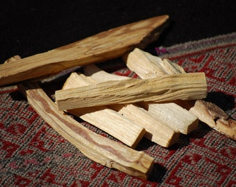 Palo Santo Holy Wood Incense + Blessing | Smudging | Spiritual Healing | Sacred Ceremony