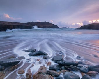 High tide at Clogher, Dingle Peninsula, Ireland.