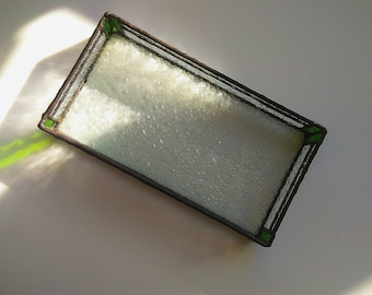 Stained glass paper/cards/candle/jewelry tray