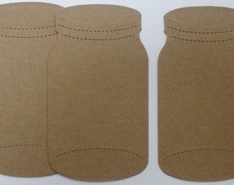 JARS - Raw Alterable CHiPBOARD Bare Die Cuts