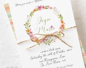 Country Lane - Wedding Invitations (Style 13513)
