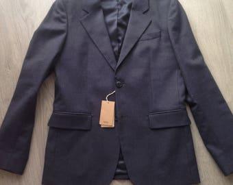NEW A.P.C blue/gray jacket