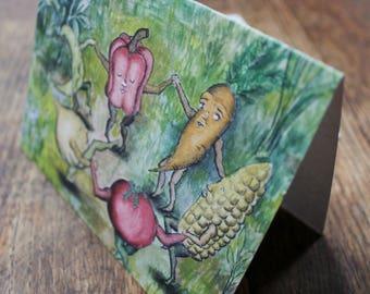 Garden Dance Card 6-Pack