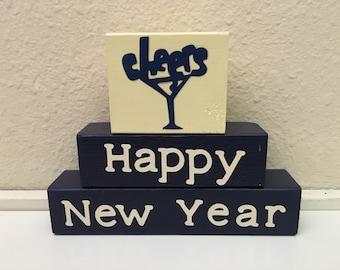 Happy New Year block set