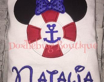 Disney Cruise Minnie shirt