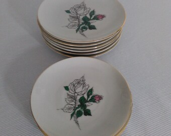 Small Plates and Saucers