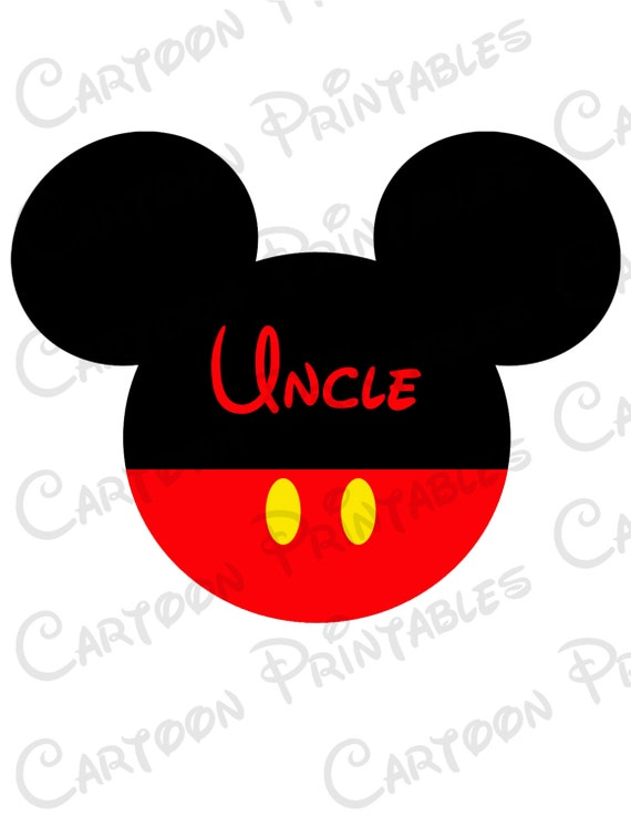 mickey mouse uncle image mouse ears printable clip art iron on rh etsystudio com mickey ears clipart mickey mouse ears clipart
