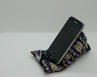Handmade Team Spirit Cell Phone Holder. Baltimore Ravens.