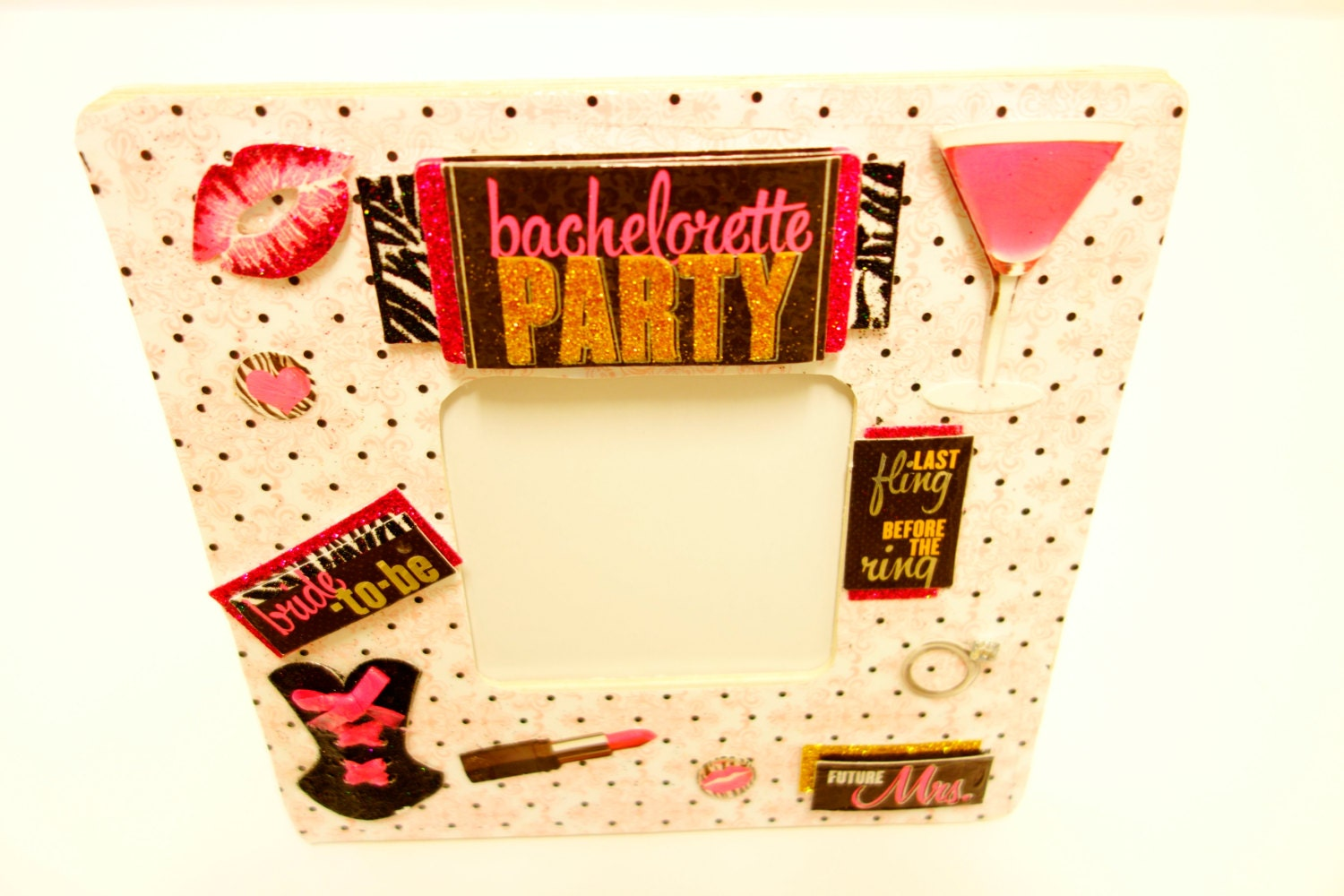 Girl\'s Night Out, Bachelorette Party Picture Frame, pink ...