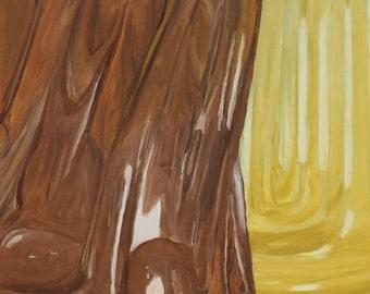 Brown & Yellow (Bottle series)