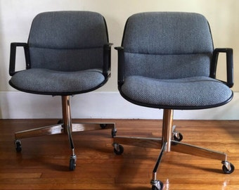 Allsteel Rolling Office Chairs