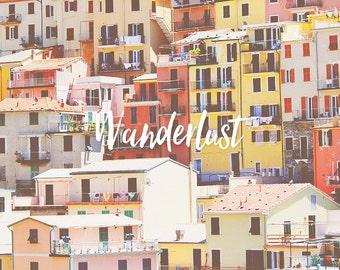 Cinque Terre, Cinque Terre Art, Manarola Cinque Terre, Vernazza Cinque Terre, Cinque Terre Art Print, Travel Art, Wall Art, Colorful Art
