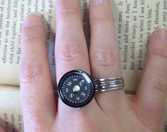 The Dean Ring - Adjustable Compass Ring