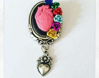 PIN flower ardent heart (mini size)