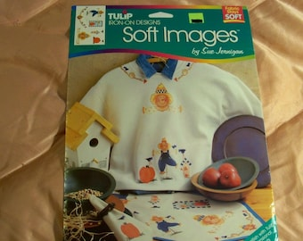 Tulip Iron-On Designs / Scarecrow - Soft Images Designed By Sue Jernigan