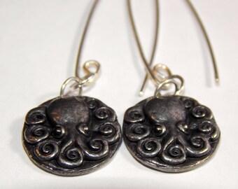 Cephalopod Serenade Earrings - Octopus Love!