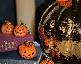 Pumpkin Key Rings