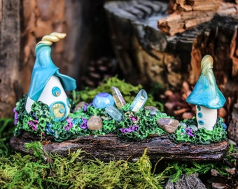 gnome home, fairy house, pixie palace