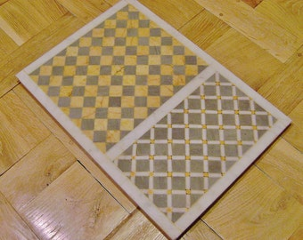 marble plate inlaid
