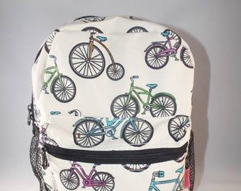 Personalized Backpack, Preschool Backpack, monogrammed toddler backpack, toddler backpack, monogrammed backpack, backpacks, bicycle backpack