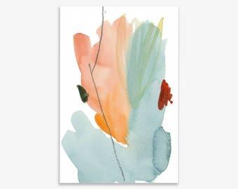 Flower Colour II, print on fine art paper