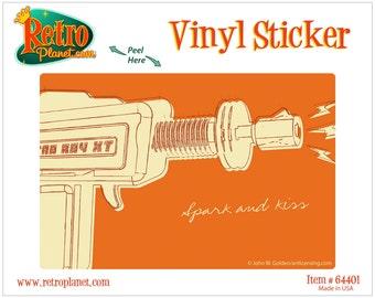 Raygun Spark and Kiss Lunastrella Vinyl Sticker - #64401