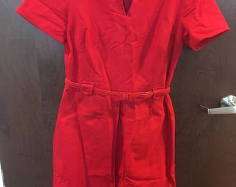 little red dress - size 10 (free US shipping)
