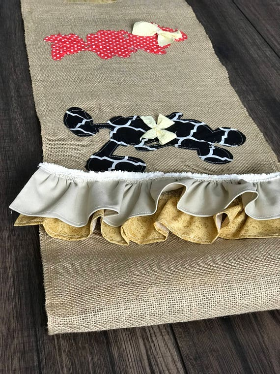 Disney Kitchen Decor Burlap Table Runner Coffee Table