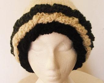 Ruffles Hat Pattern