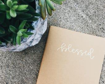 Blessed Journal // Prayer Journal