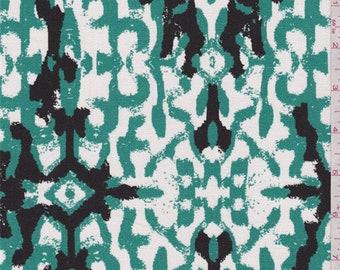 Kina Jade Green Duck Canvas, Fabric By The Yard