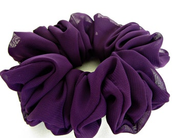 Purple Hair Scrunchie - #91 - are Great Gifts for Her
