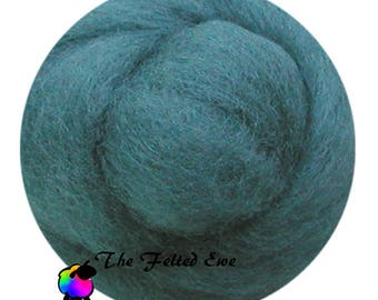Needle Felting Wool Roving / DR35 Lady of the Lake Carded Wool Roving
