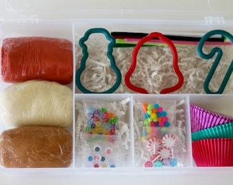 Christmas Baking Play Dough Kit