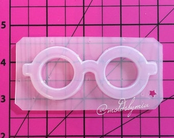 ON SALE Kawaii glasses flexible plastic resin mold