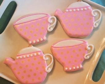 Teapot and Teacup - Tea Party