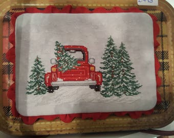 Bringing Home the Tree by Sue Willis Designs