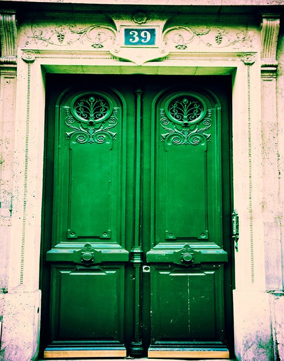 Like this item? & Paris Photograph / Photograph of Door in Paris / French Home