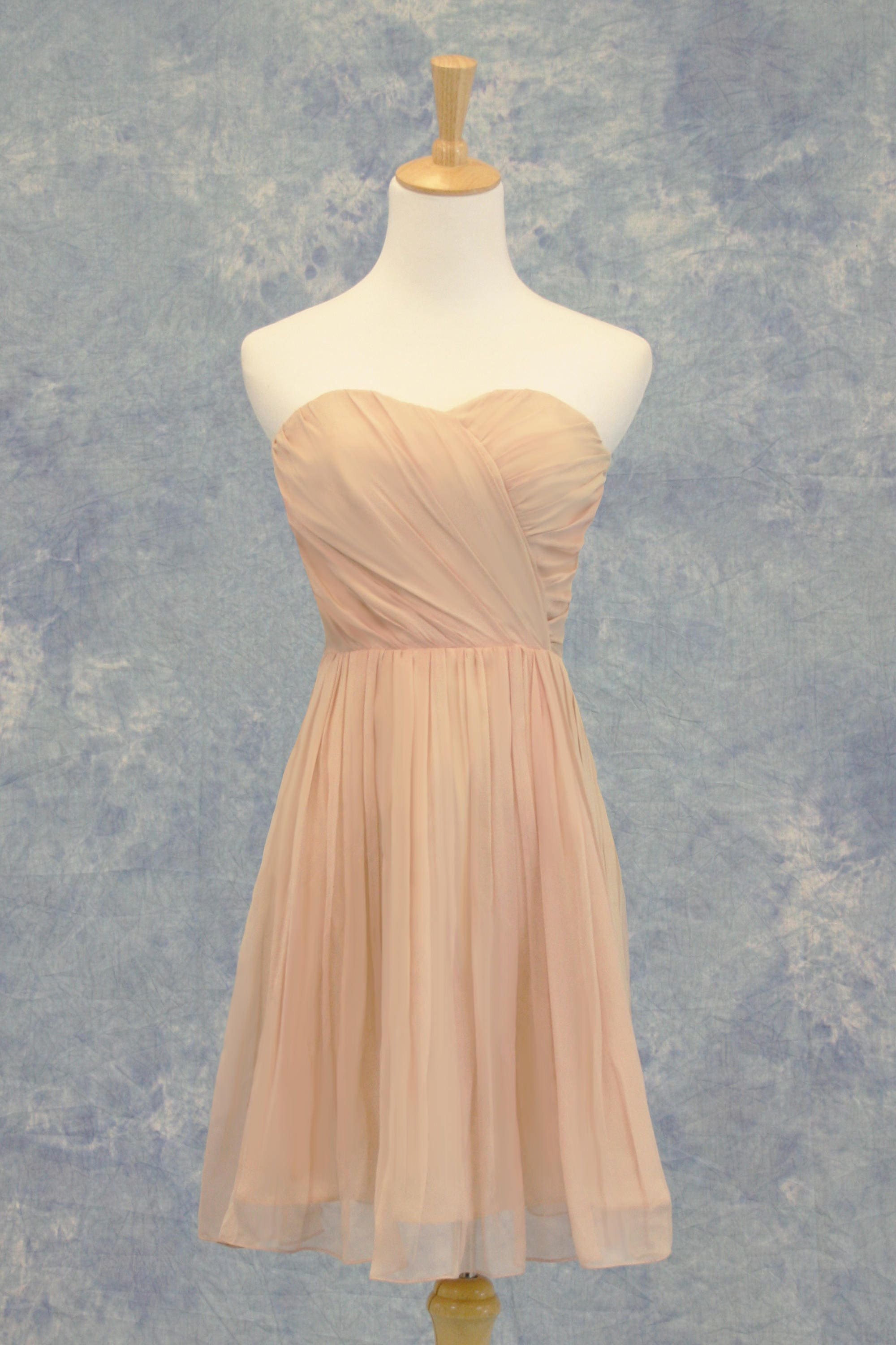 Vintage mauve pink rose bridesmaid dress short formal bat zoom ombrellifo Image collections