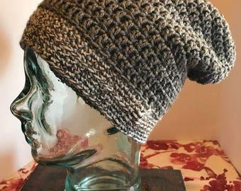 Crochet - slouchy hat