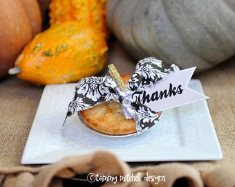 NEW INSTANT DOWNLOAD The Gobble Gobble Thanksgiving Printable Party Collection Thanks Favor Tags