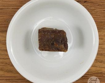 Vanilla Scented Amber Resin Solid Chunk Piece Natural Perfume 5 grams