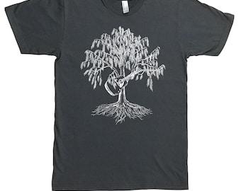Guitar T Shirt for Men - Music Lovers Gift - Acoustic Guitar Tshirt - Guitarist Gifts - Country Music Shirt - Bluegrass Tshirt - Tree Tees