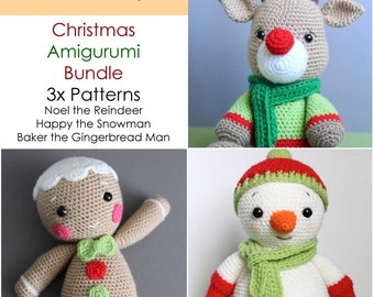 Amigurumi Reindeer Free Pattern : Cute crochet amigurumi patterns by helloyellowyarn on etsy