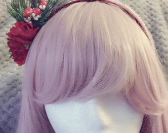 Holiday maiden Headband