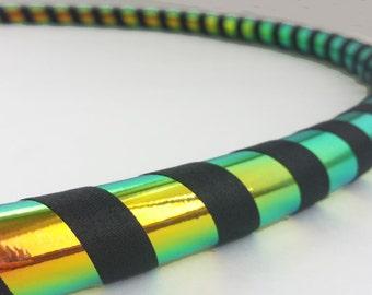Rainbow Morph All Sizes Hula Hoop, Beginner//Polypro//Kid//Weighted//Exercise//Dance Hula Hoop // Customizable