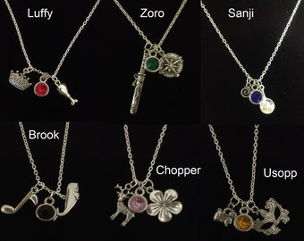 One Piece Inspired Necklaces